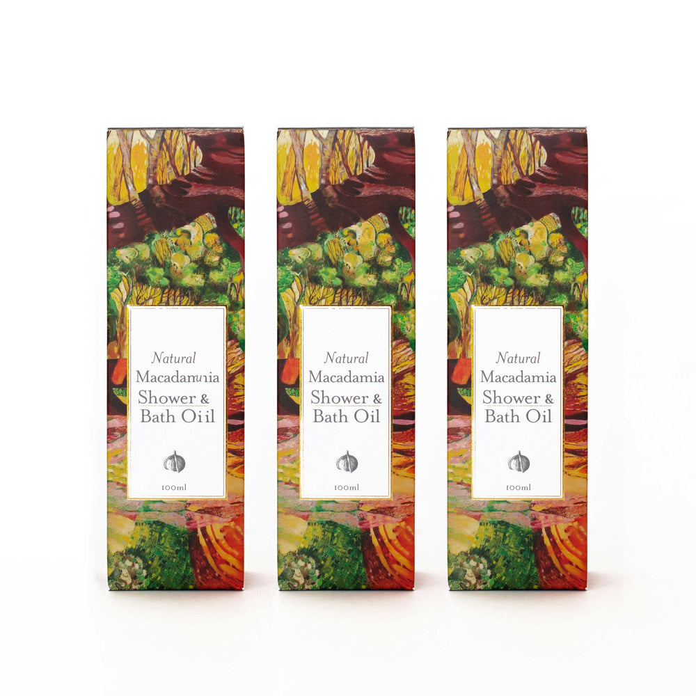 Shower and Bath Body Oil Gift Pack (3)