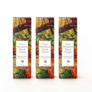Load image into Gallery viewer, Natural Macadamia Hand Cream Gift Pack