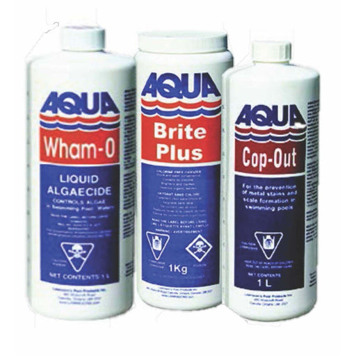 Aqua Pool Pool Chemicals Pool Store Canada Aqua Pool Winterizing Kit for In Ground Pools up to 100,000L - Pool Store Canada