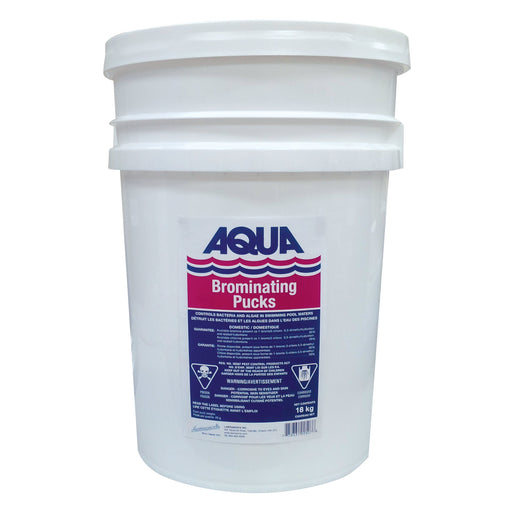 Aqua Pool Pool Chemicals Pool Store Canada Aqua Pool Bromine Tablets/ Pucks 18kg - Pool Store Canada