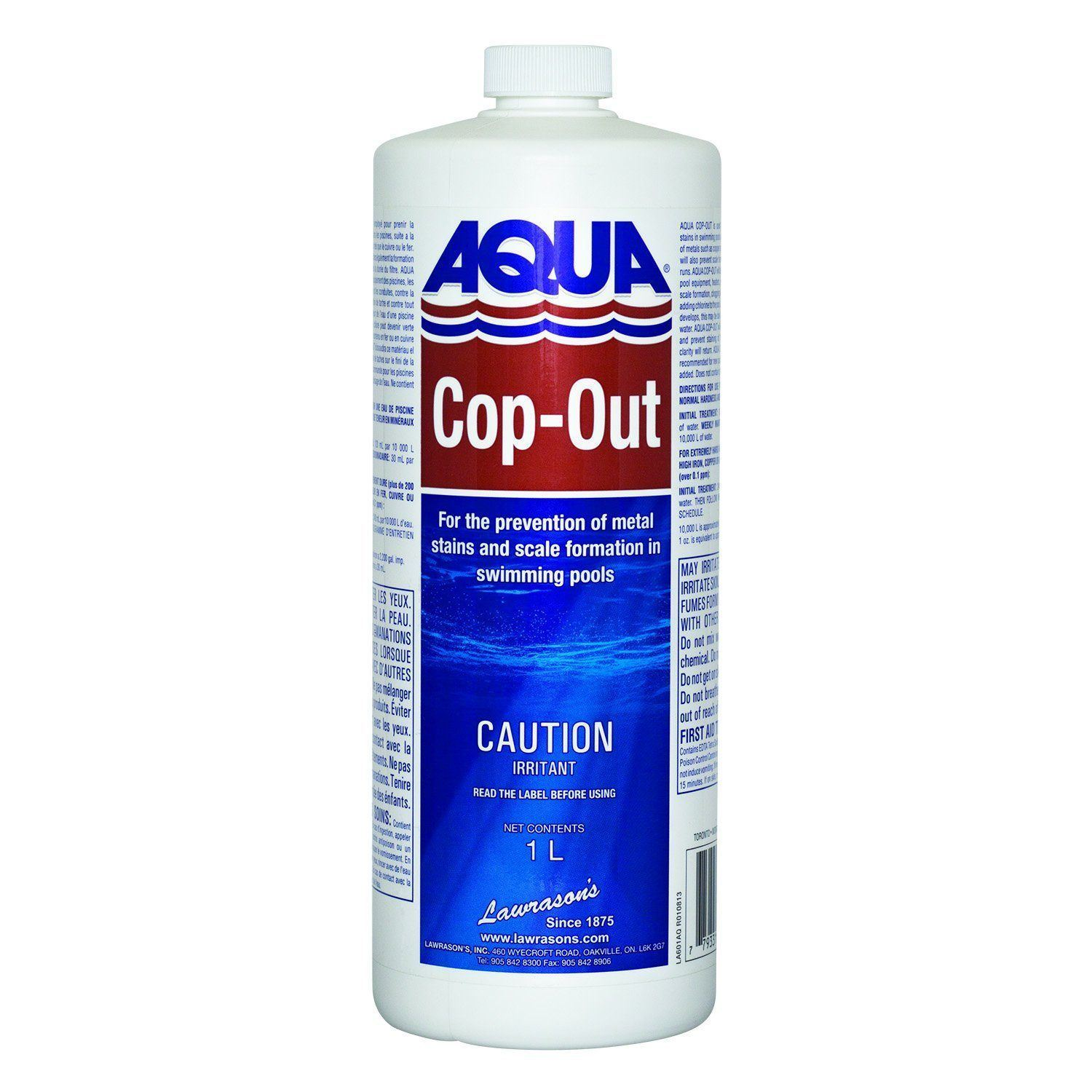 Aqua Pool Pool Chemicals Pool Store Canada Aqua Pool Cop-Out 1ltr - Pool Store Canada