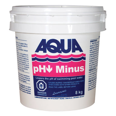 Aqua Pool pH minus / pH - 8kg - Pool Store Canada