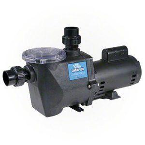 Waterways Champion 115 1.5hp 1 speed 115/230v Pool Pump - Pool Store Canada