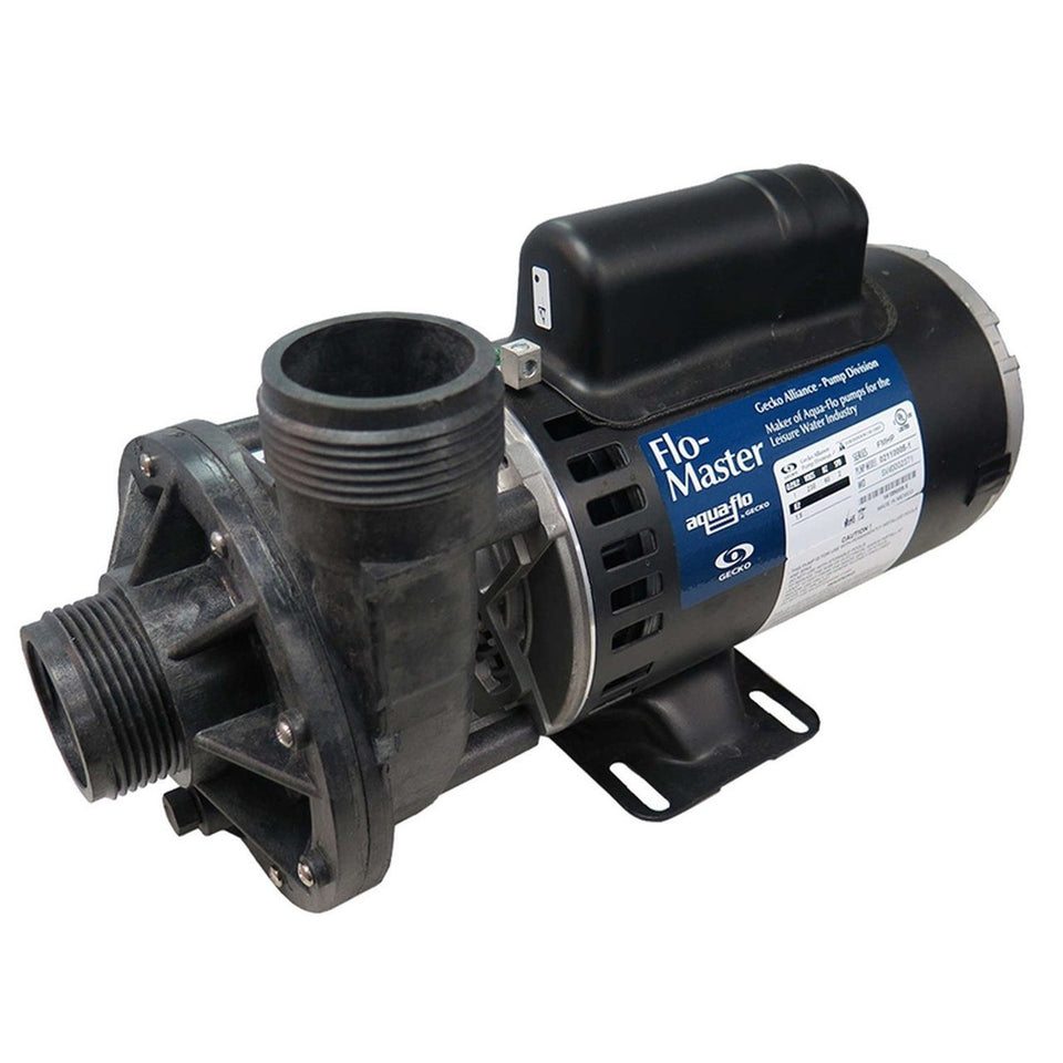 "Gecko Hot tub pump Pool Store Canada Aqua-Flo Flow Master FMHP 1.5HP 1.5"" X 1.5"" 115v Side Discharge -02115005-1010 - Pool Store Canada"