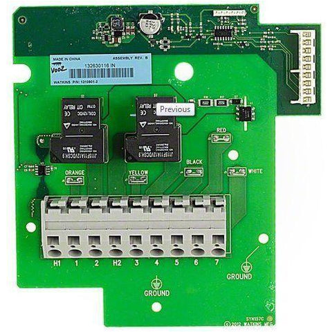 Hot Spring Spas Iq2020 Heater Relay Circuit Board 77118