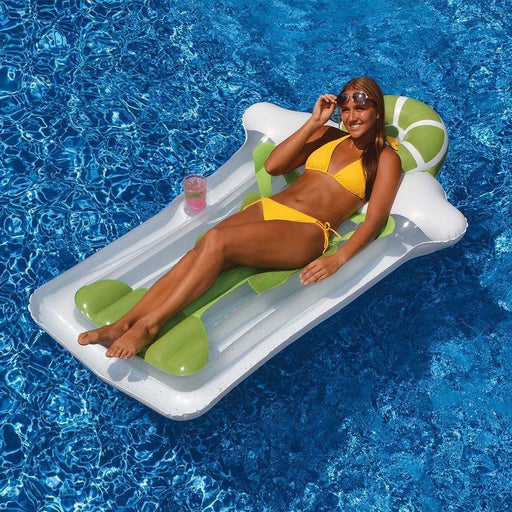 Swimways Float Pool Store Canada Margarita Float Mat with Drinks Holder - Pool Store Canada