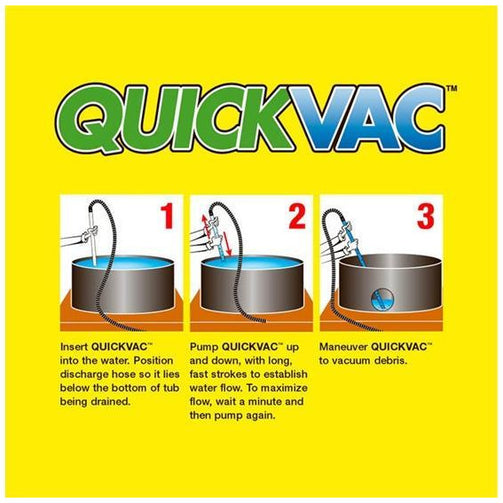 QuickVac Hot tub / Spa Hand Vacuum
