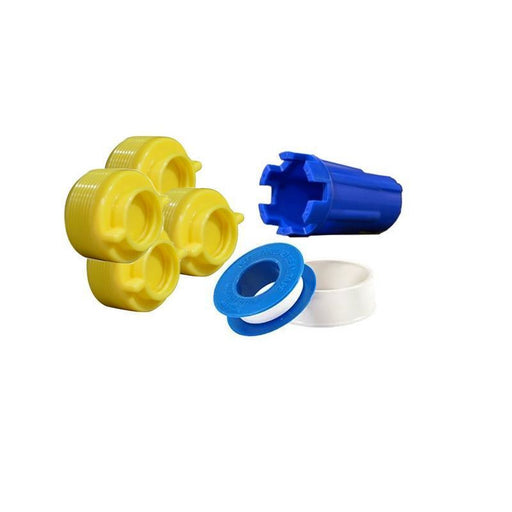 Yellow Plug Pool Equipment Pool Store Canada Winter Yellow Plug Closing Kit - Pool Store Canada