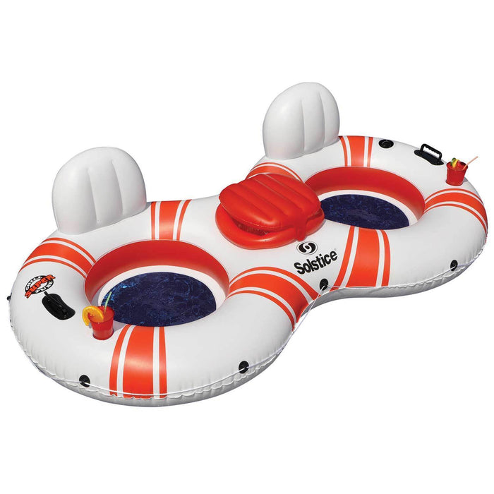 Swimways Float Pool Store Canada Soltice Super Chill River Tube Double Duo with Cooler - Pool Store Canada