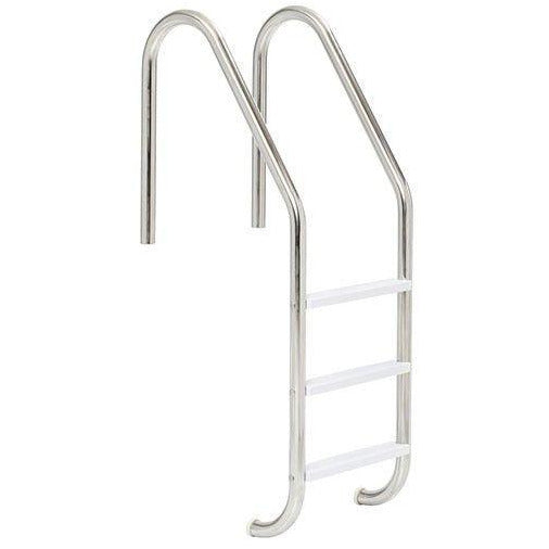 Pool Store Canada Pool Ladder Pool Store Canada 3 Step Stainless Steel Pool Ladder Grey Treads - Pool Store Canada