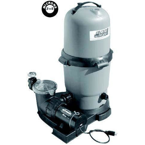 WaterWay Pool Equipment Pool Store Canada Waterway Clear Water II 100 sq. ft. Filter and 1.0 HP, 1Speed Pump - Pool Store Canada