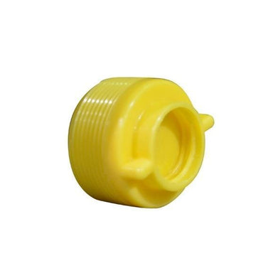 "Yellow Plug Pool Equipment Pool Store Canada Yellow Winter Plug 1.5"" - Pool Store Canada"