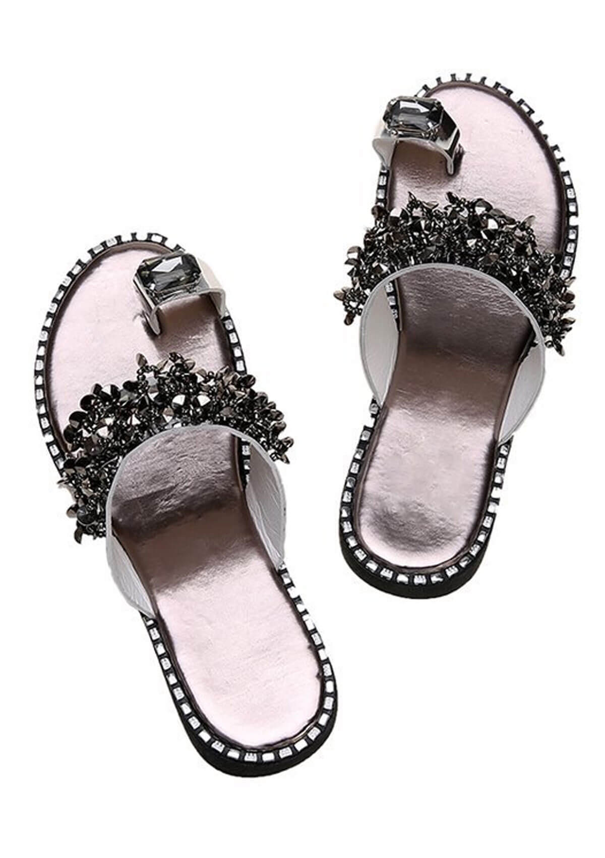 Crystal Ring Sandals