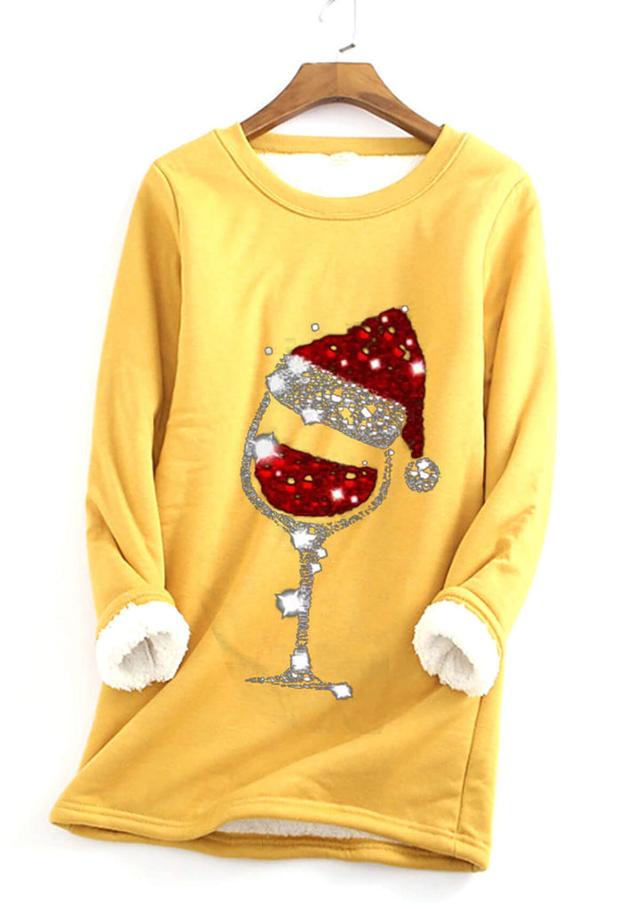 Warm Christmas Long Sweatshirt