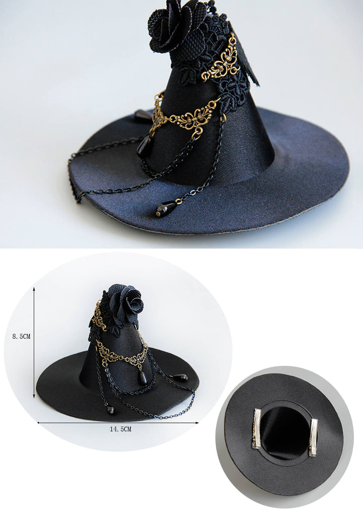 Witch Hat Side Clip Accessories