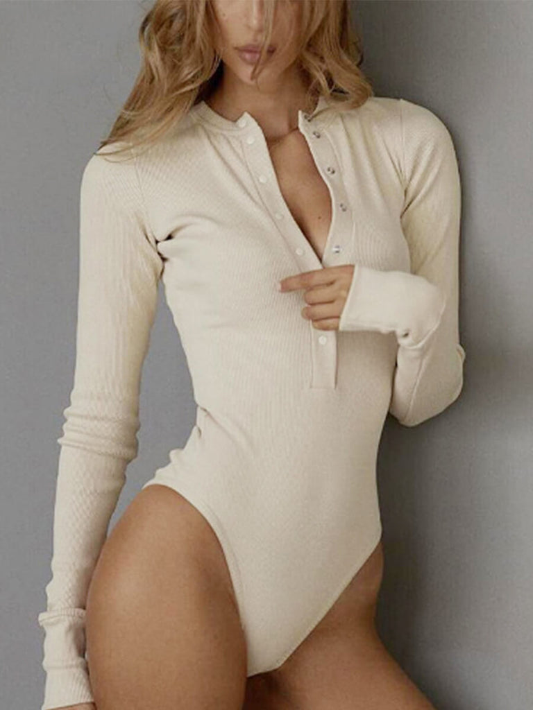 Long sleeve Pit Strip Jumpsuit