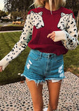 Cheetah Leopard Sweater