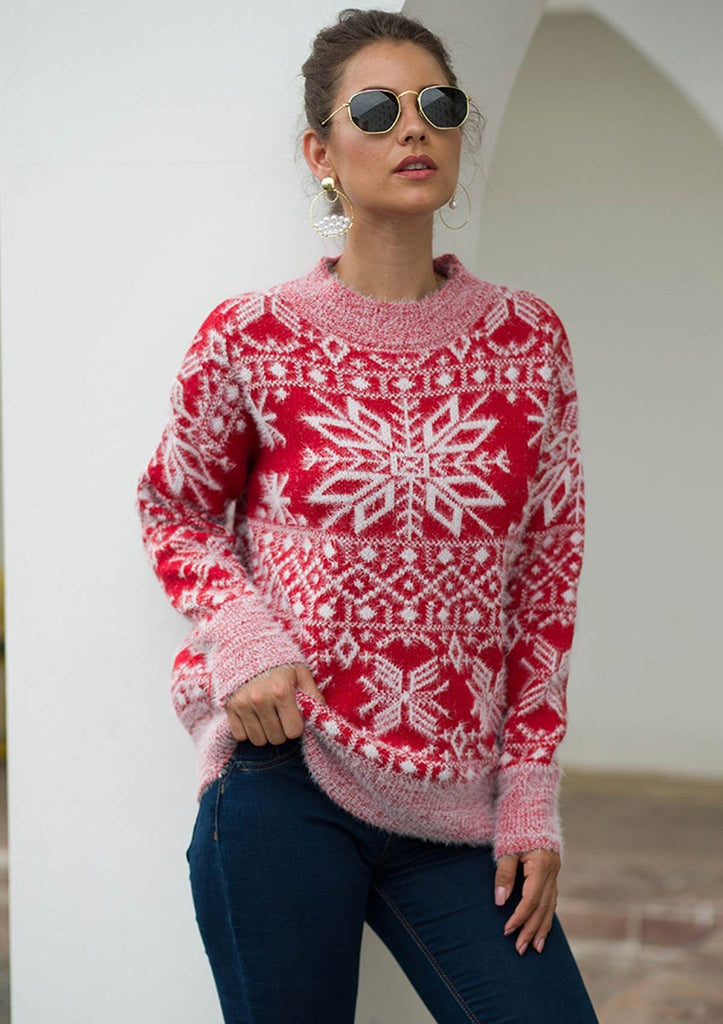 Christmas Snowflake Sweater