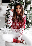 Christmas Snowflake Knitted Sweater