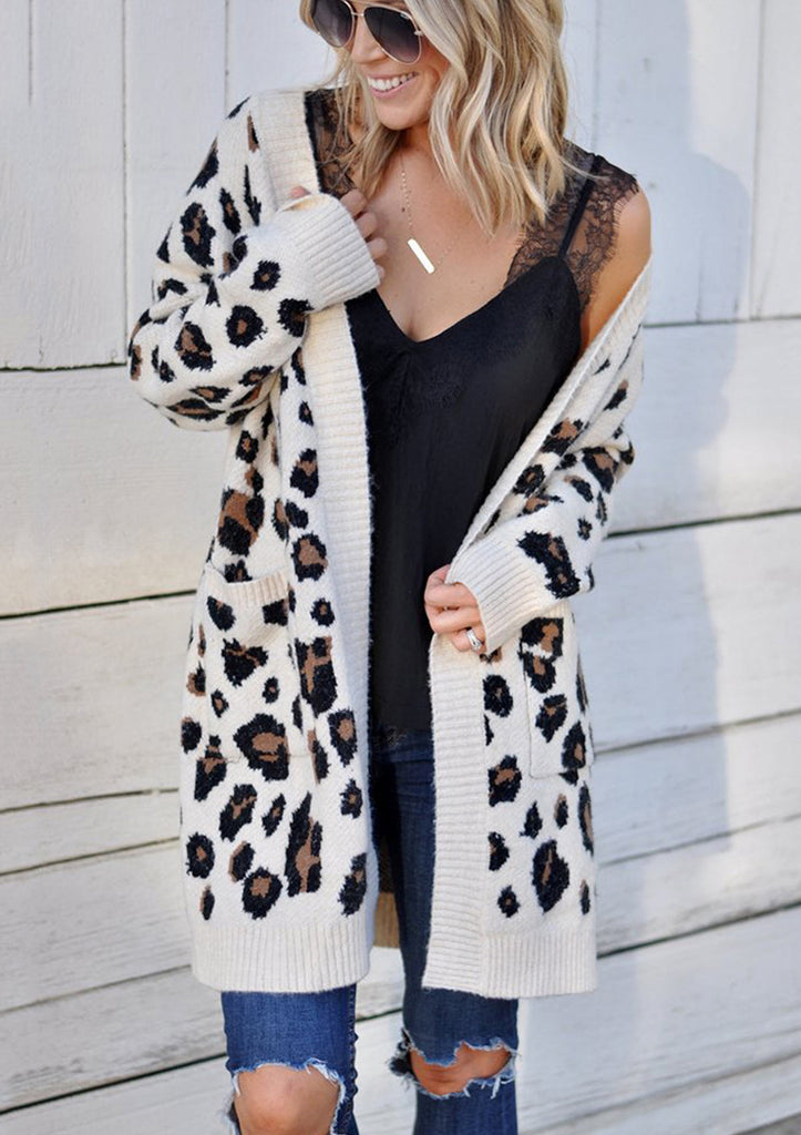 Leopard Long Sleeve Cardigan