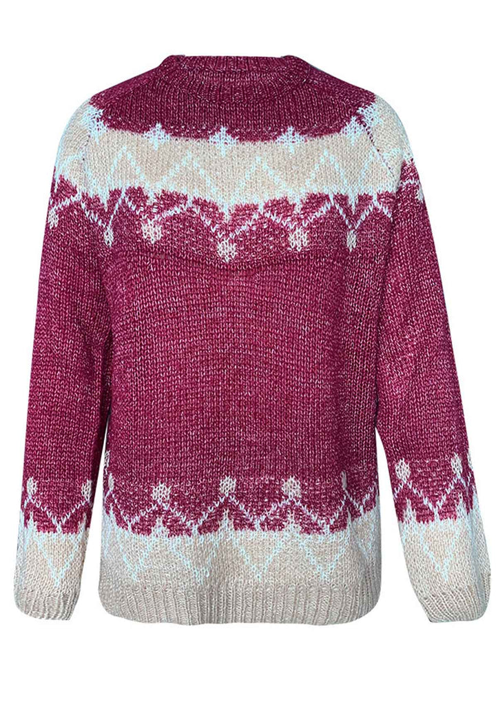 Mohair Coarse Knit Sweater