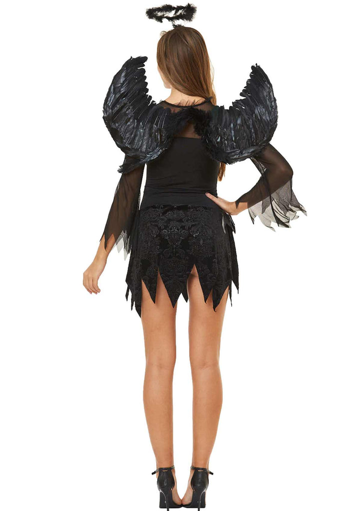 Halloween Dark Angel Cosplay Dress