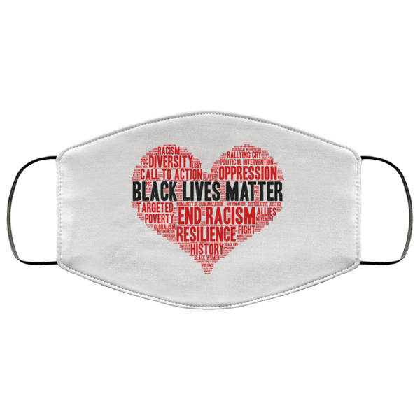 Black Lives Matter - Custom Triple Layer Face Mask