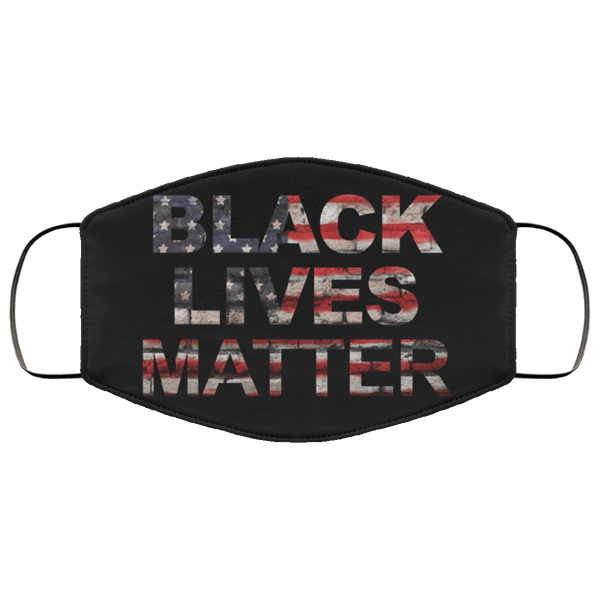 Black Lives Matter Face Mask US - Custom Triple Layer Face Mask