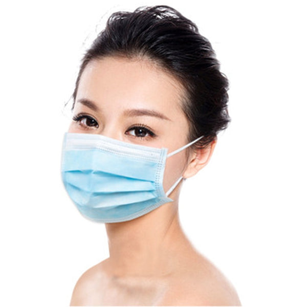 Three Layer Filter Masks PM2.5/N95 10/30/50/100 pcs