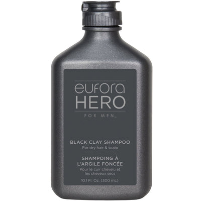 eufora BLACK CLAY SHAMPOO 10.1 Fl. Oz.