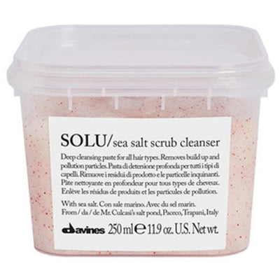 Davines Solu Sea Salt Scrub Cleanser 11.9 Fl. Oz.