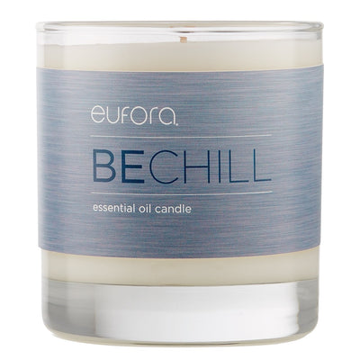eufora BECHILL essential oil candle 8 Fl. Oz.