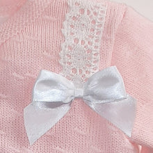 "Load image into Gallery viewer, Baby Girl's Cardigan  ""Lulie"" in pink by Pex"