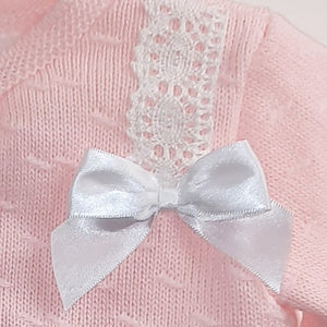"Baby Girl's Cardigan  ""Lulie"" in pink by Pex"