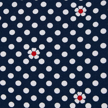 Load image into Gallery viewer, Girl's Polka Dot Leggings in Navy by Mayoral.