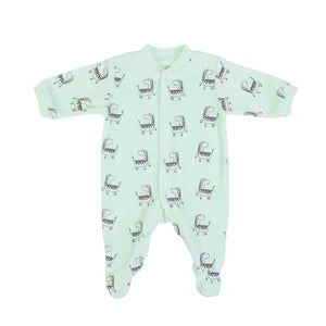 All-over Zebra print onesie in Organic Cotton Mix by FS Baby