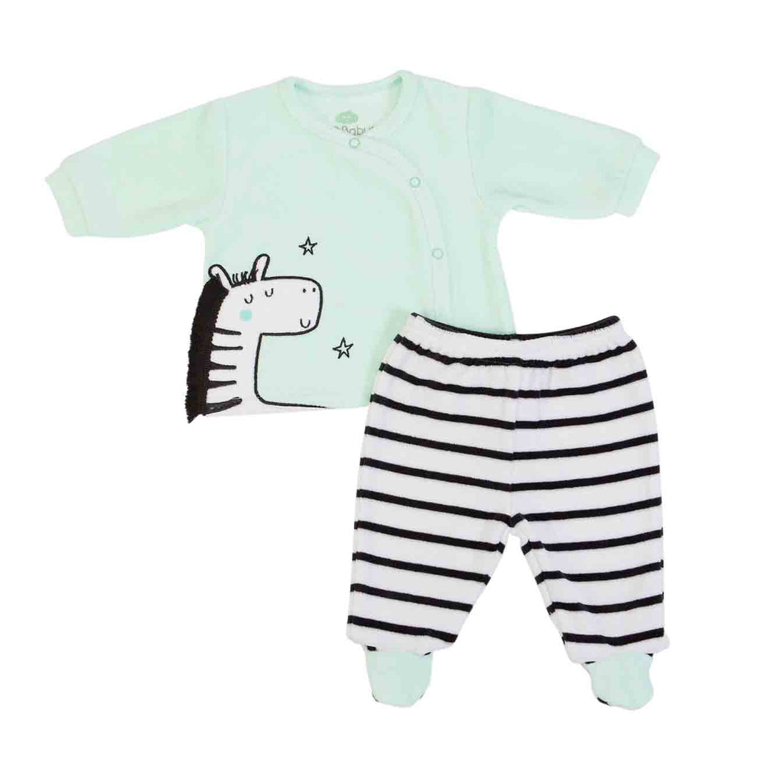 Baby 2 piece  set in Organic Cotton mix, by FS Baby