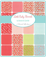 Load image into Gallery viewer, Little Ruby Flannels Layer Cake, Bonnie and Camille, Moda Fabrics, Pre-Cut Fabric Squares, Ten Inch Fabric Squares, 55130LCF