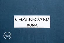 Load image into Gallery viewer, Chalkboard Kona Cotton Solid Fabric from Robert Kaufman, K001-1837
