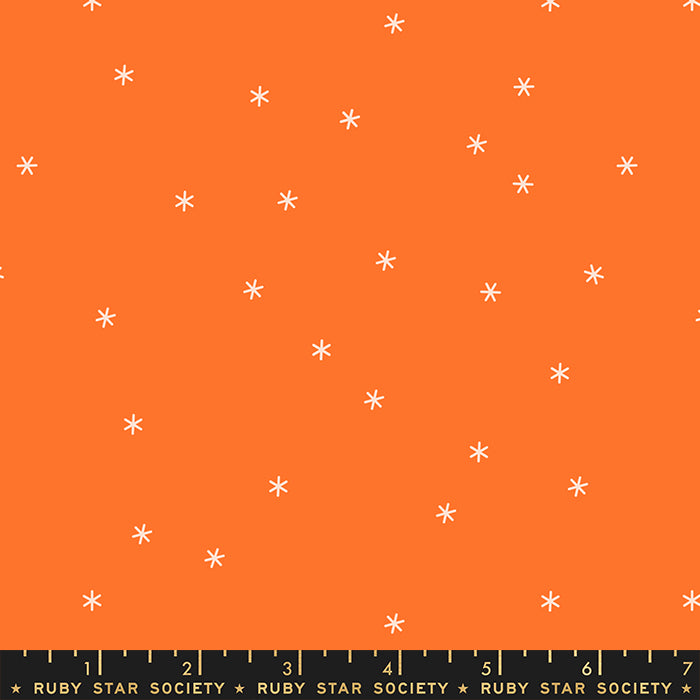 Spark in Orange, Melody Miller, Ruby Star Society, Moda Fabrics, 100% Cotton Fabric, RS0005 48