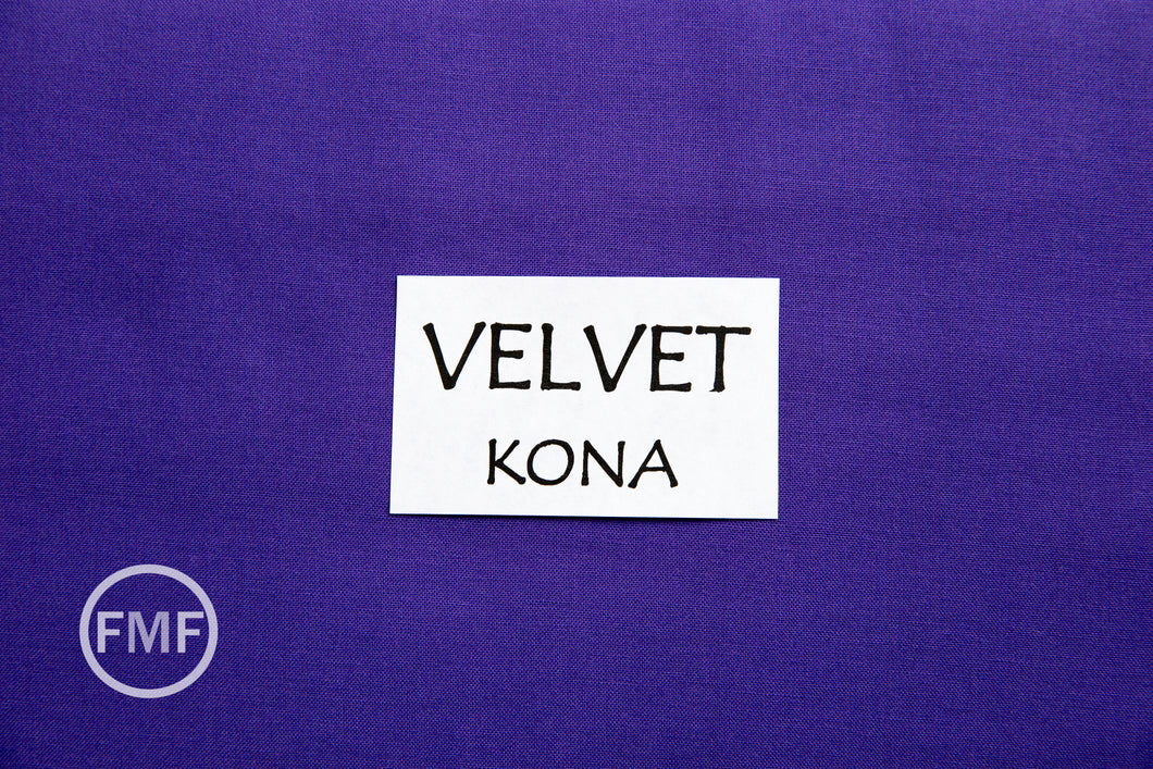 Velvet Kona Cotton Solid Fabric from Robert Kaufman, K001-1857