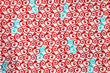 Load image into Gallery viewer, Perfectly Perched Swirl in Celebration, Laurie Wisbrun, Robert Kaufman Fabrics, 100% Cotton Fabric, AWN-12850-203 CELEBRATION