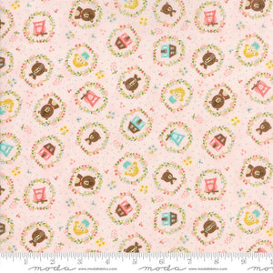 Home Sweet Home Goldie's Story in Pink, Stacy Iest Hsu, 100% Cotton Fabric, Moda Fabrics, 20573 12