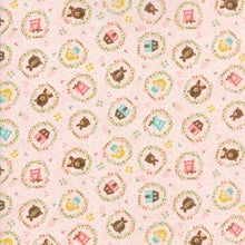 Load image into Gallery viewer, Home Sweet Home Goldie's Story in Pink, Stacy Iest Hsu, 100% Cotton Fabric, Moda Fabrics, 20573 12