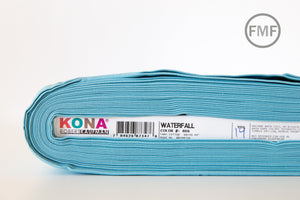 Waterfall Kona Cotton Solid Fabric from Robert Kaufman, K001-866