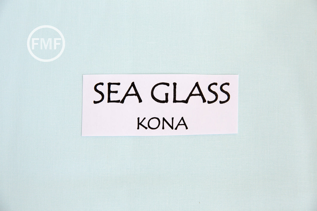 Sea Glass Kona Cotton Solid Fabric from Robert Kaufman, K001-846