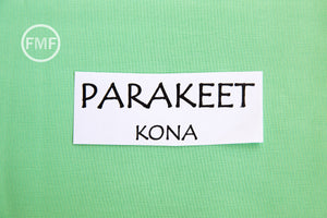Parakeet Kona Cotton Solid Fabric from Robert Kaufman, K001-221