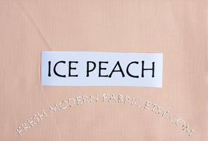 Ice Peach Kona Cotton Solid Fabric from Robert Kaufman, K001-1176
