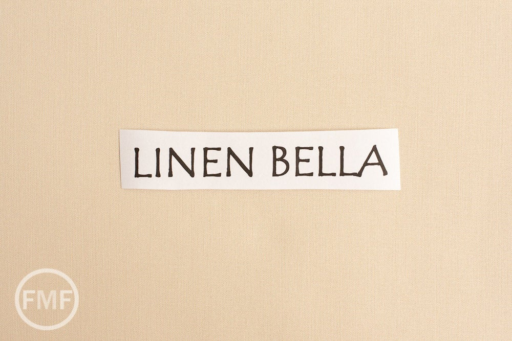 Linen Bella Cotton Solid Fabric from Moda, 9900 242