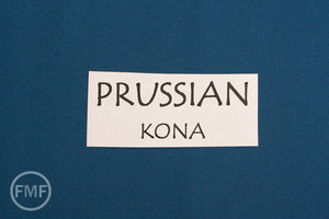 Prussian Kona Cotton Solid Fabric from Robert Kaufman, K001-454